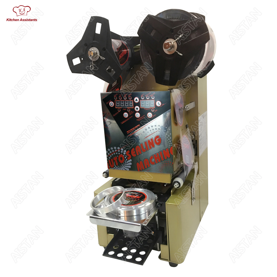 WY980 electric commercial desktop full automatic cup bottle sealing machine for Milk tea shop coffee bar hl series desk top commercial water boiler machine milk warmer boiler for coffee bar shop 6 liters