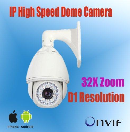 Surveillaence/Network IP Camera Color PTZ Outdoor Dome 32x Optical,256 preset,200m IR Night Vision,security camera PTZ,KE-NP9600
