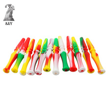 SY 95mm Silicone Hookah Mouth Tip Washable Colorful Reusable MOUTH TIPS For Hookah Hose Hookah Pipe Shisha. Color Random