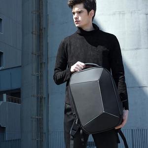 Image 4 - أصيلة شاومي المهوس حقيبة الظهر مقاوم للماء 15.6 بوصة محمول سستة تصميم حقائب الأعمال السفر باستخدام Teenager الرجال النساء حقيبة