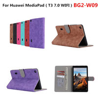 Protector For Honor Play Pad 2 7 0 Tablet PU Leather Wallet Cover Case For Huawei