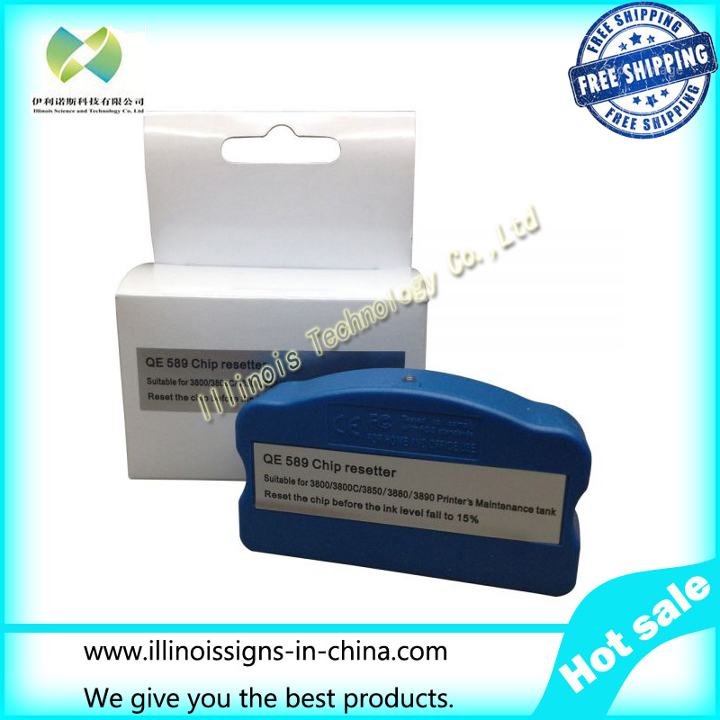 Ink Cartridge Chip Resetter for Stylus Pro 3800 / 3800C / 3850 / 3880 / 3890 / 3885 printer parts F186000/DX4/DX5/DX7