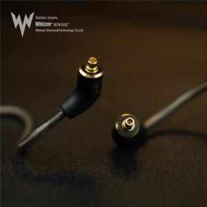 Image 4 - Whizzer A15 Pro HIFI écouteur 1DD hybride IEM technologie types intra auriculaires avec MMCX remplaçable câble conception coque en alliage daluminium