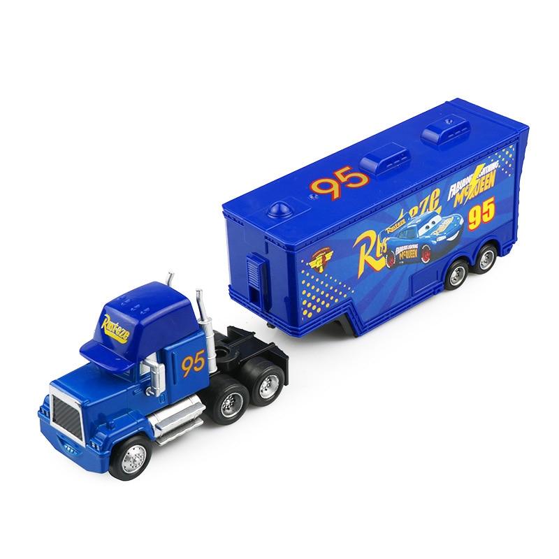 Дисней Pixar Тачки 2 3 игрушки Молния Маккуин Джексон шторм мак грузовик 1:55 литая модель автомобиля игрушка детский подарок на день рождения - Цвет: Fabulous Uncle