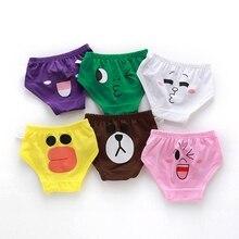 2Pcs Boys Girls Cartoon Children Underwear Male Cotton Baby Underwear Children Underpants Briefs for Babys Child's Underwear