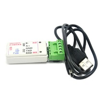 2 in 1 USB to RS485 USB to RS232 RS232 to RS485 Converter Adapter w/ CH340T цена