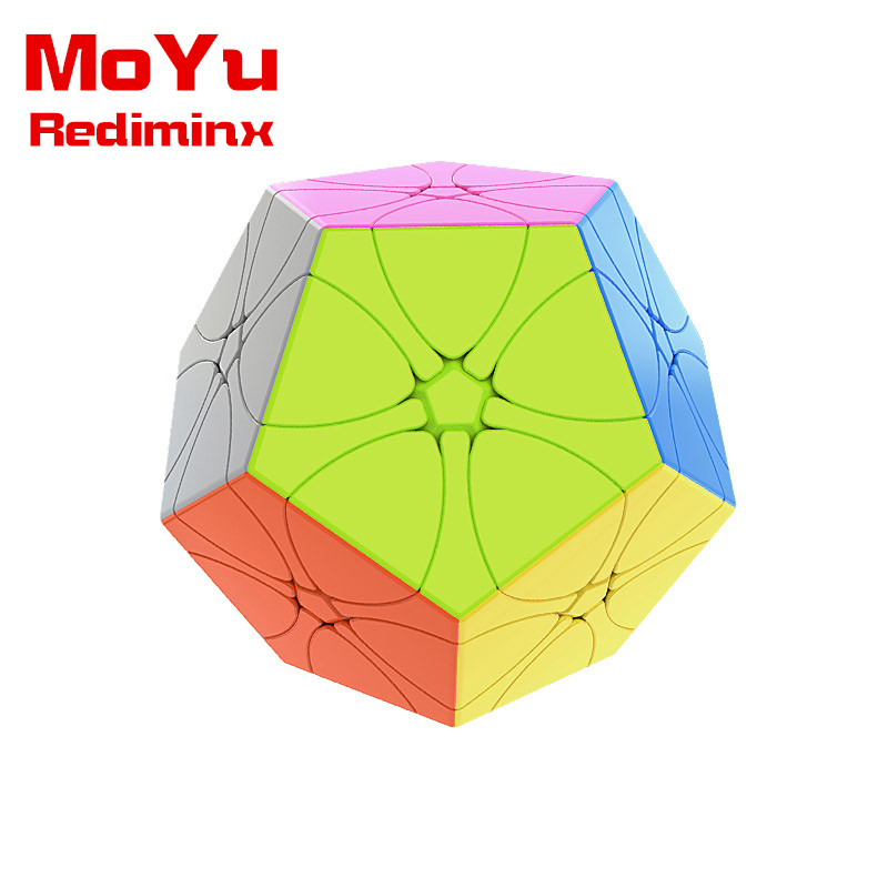 New MoYu Rediminx Stickerless Magic Cube Cubing Classroom Meilong Puzzle Speed Cubes Educational Toys For Children