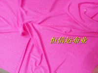 Fluorescent Pink Nylon Fabric Cloth Stage Clothing Fabric Swimming Suit Bar Decoration Fabric