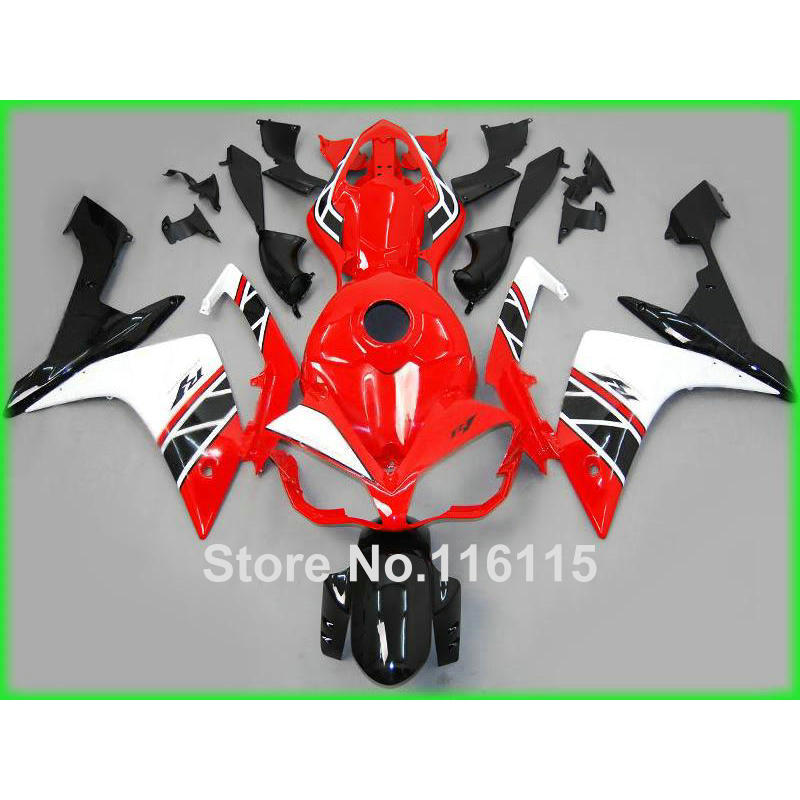 ᐂinjection molding fairing kit fit for yamaha yzf r1 2007 2008 yzf