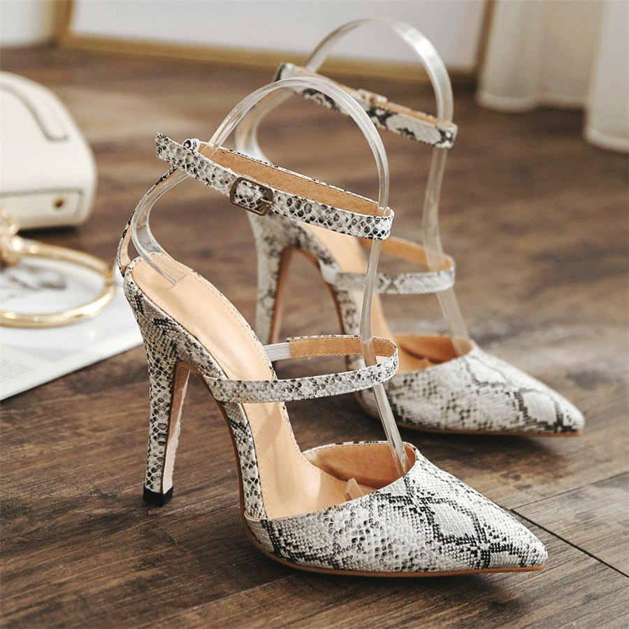 Sexy degli alti talloni delle donne pompe scarpe da donna 2019 femminile crepe tacchi a spillo a punta scarpe delle signore del partito scarpe chaussure femme talon