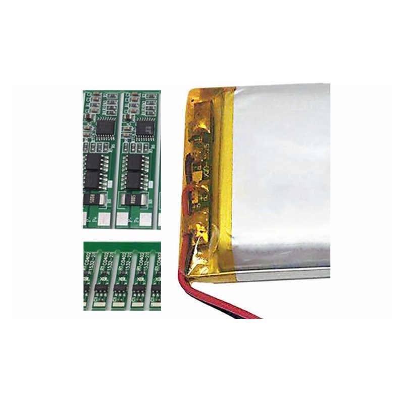 3.7 فولت 500mAh 602035 ليثيوم أيون بوليمر بطارية قابلة للشحن 602035 ل DVR تاكوغراف السيارات سماعة رأس مزودة بتقنية البلوتوث البطارية