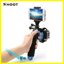 Deal with Set off Shutter Gun Set With Floating Bobber Hand Grip Stick for GoPro Hero5 Hero4/three/three+