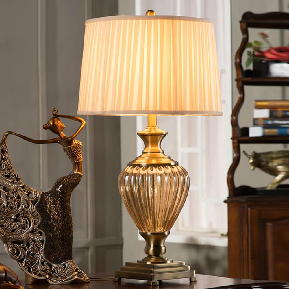 Antique bedroom lamps - The Only Point Still An American Antique Wrought Iron Bedside Table Lamps Bedroom Living Room European