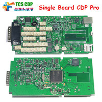 Green Single Board TCS CDP New Vci Without Bluetooth 2015 R1 2014 R2 Version On Cd