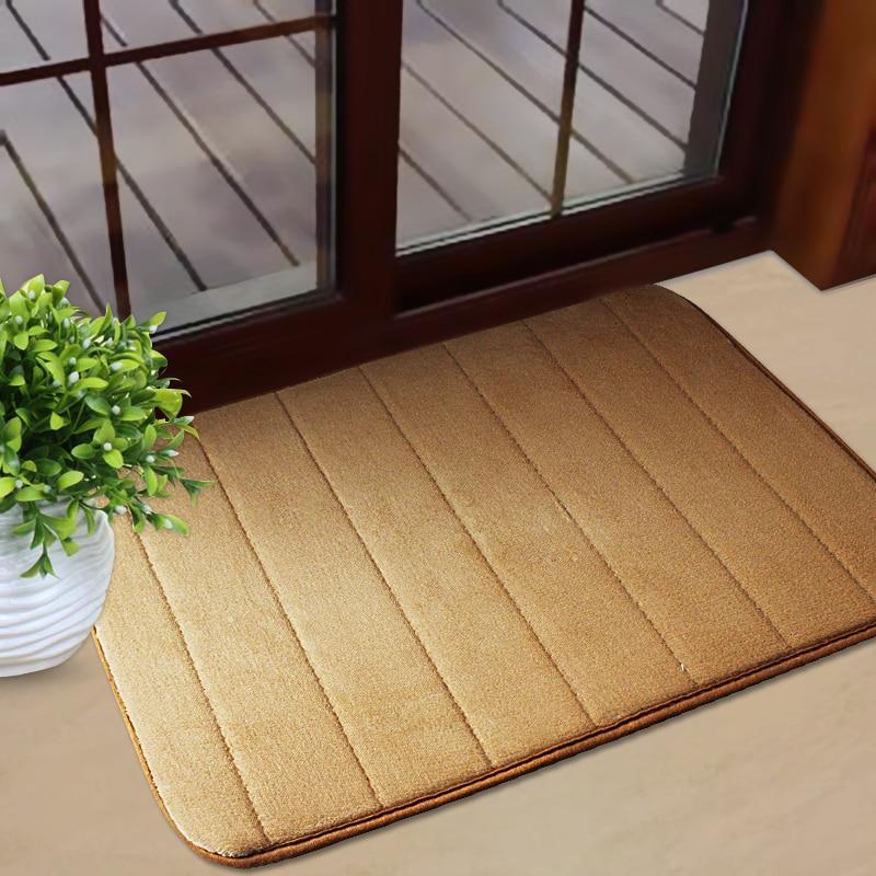 40*60CM (15.74*23.62 In) Memory Foam Bath Mat Door Entrance Rugs