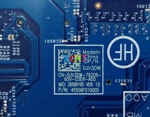 Image 4 - สำหรับ Dell Latitude 3350 JV3DW 0JV3DW CN 0JV3DW PWB: JM7HC i5 5200U 15203 1 แล็ปท็อปเมนบอร์ดเมนบอร์ดทดสอบ