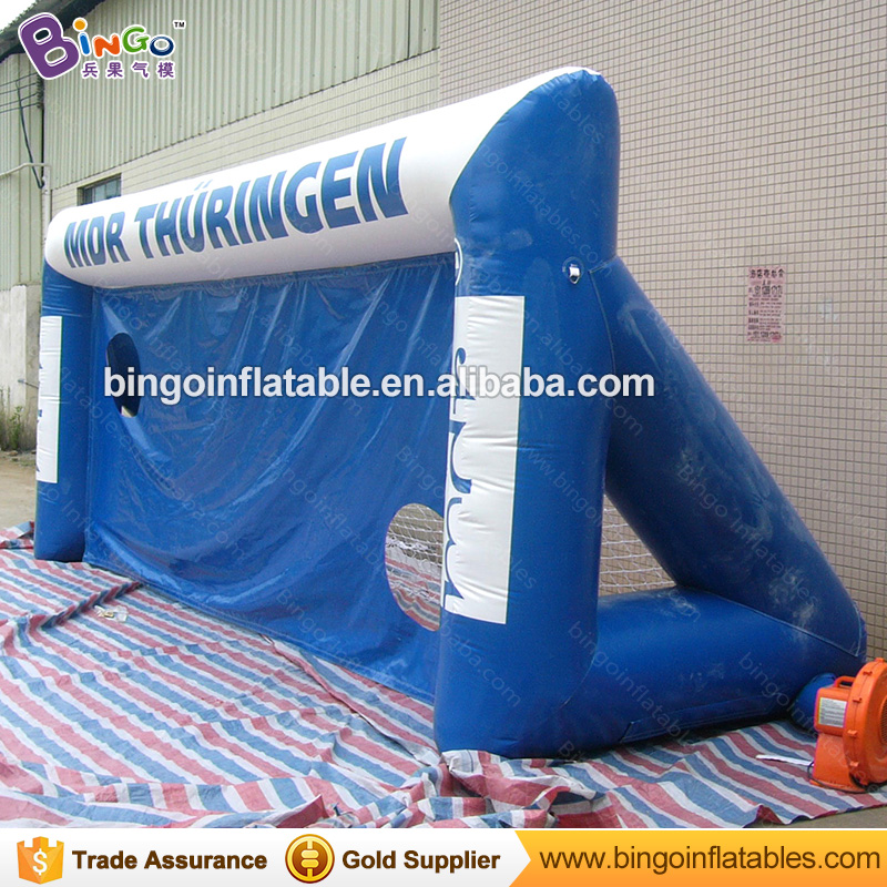 6M / 20ft Inflatable Kids Football Goal Sensory Toys Football Gate with Free Blower Outdoor Toys for Children Outdoor Game free shipping football goal portable goal kage 183x120x120 3kg
