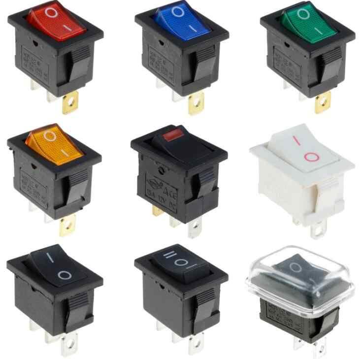 1 шт. KCD1 3 фута на включение/выключение подсветки светодиодный прямоугольный рокер переключатель Автомобильный видеорегистратор Автомобильная 6A 250 V/10A 125 V