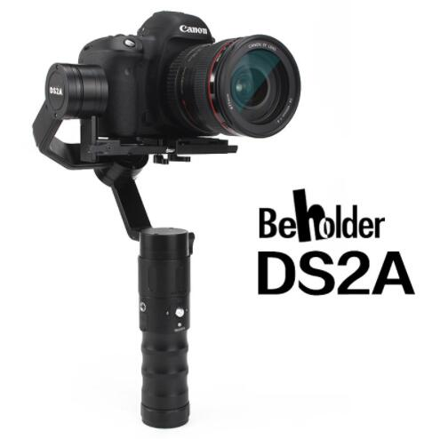 Beholder DS2A 32bit 3axis Handheld Stabilizer 360 Endless Oblique Arm version Camera Gimbal for DSLR Cameras VS DS1 [hk stock][official international version] xiaoyi yi 3 axis handheld gimbal stabilizer yi 4k action camera kit ambarella a9se75 sony imx377 12mp 155‎ degree 1400mah eis ldc sport camera black