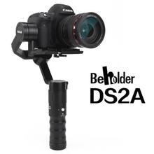 Beholder ds2a 32bit 3 оси Ручной Стабилизатор 360 бесконечные косой ARM версия Камера Gimbal для Зеркальные фотокамеры VS ds1