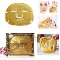 3 шт./лот 24 К золота био-коллаген кристалл маска для лица Moisturzing - старения золотой порошок маска высокий результат