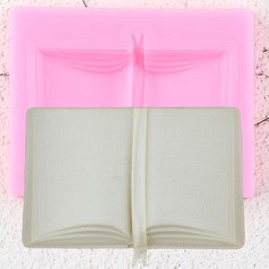 Image 1 - 3D школьная книжка, силиконовые формы «сделай сам» для детской вечевечерние