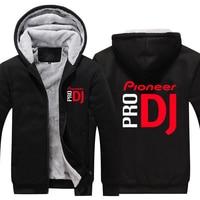 pioneer pro DJ Thicken Hoodie pioneer pro DJ Warm Hoodie Men Women Fleece Thicken Coat Hoodie