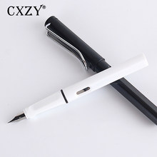 CXZY 24 styles Safari Transparent fountain pen F EF Iraurita nib luxury calligraphy ink teacher gift writing jinhao Office 1G805(China)