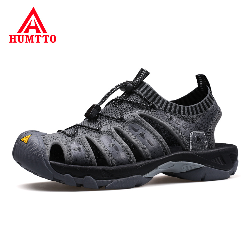 2019 Summer New Outdoor Sandals Men Breathable Non slip Man Beach Shoes Light High Quality Classic