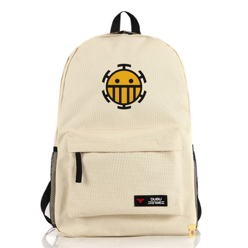 New Cartoon Anime Fashion Children's School Bag ONE PIECE Backpack Multi Choice Travel Laptop Book Bags