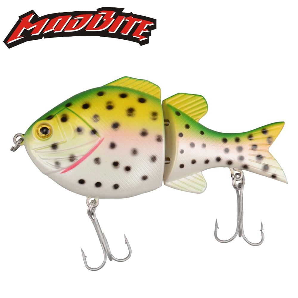 MadBite Lifelike Lure 5PCs 24g 90mm Hard Carp Fishing Lures Saltwater Fishing Swim Artificial Bait 2 Sharp Hooks