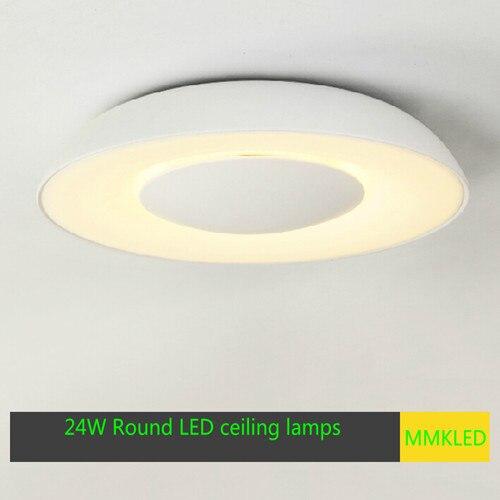 Lámparas de techo LED redondas artísticas creativas luces de salón ...