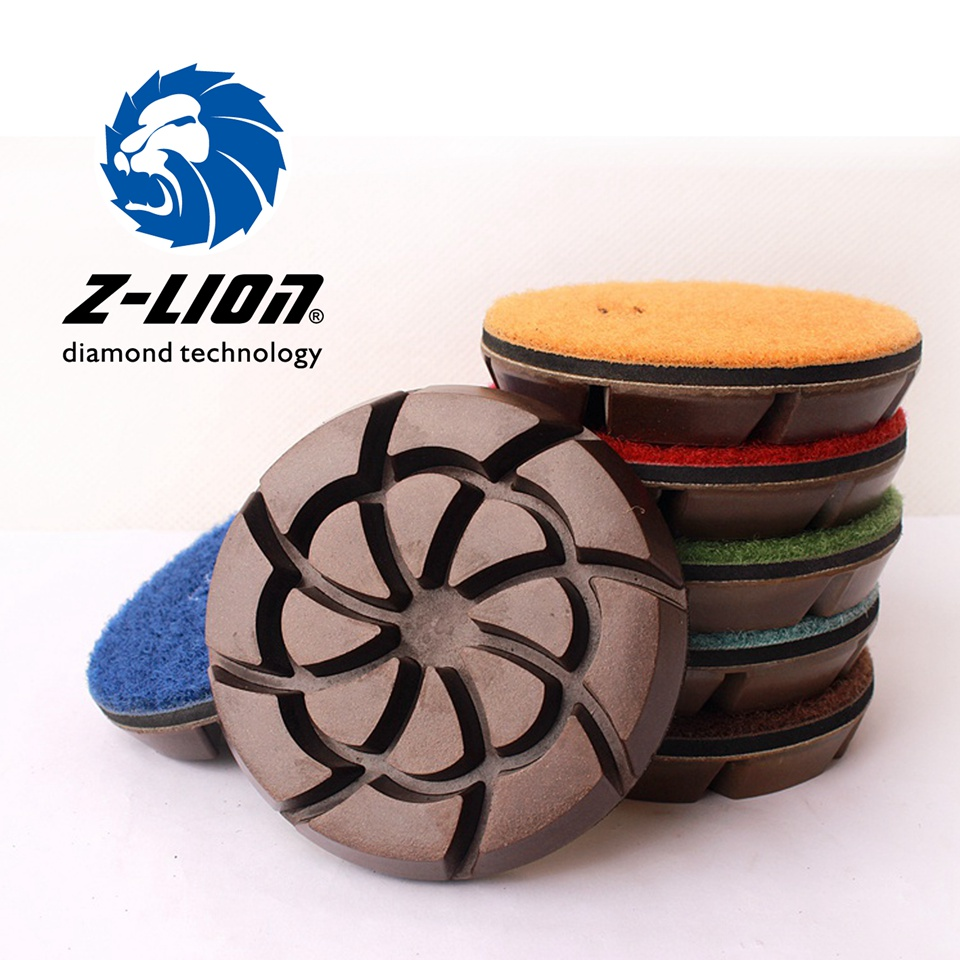 Z Lion Floor Polishing Pad 3 Inch Dry Diamond Tool For