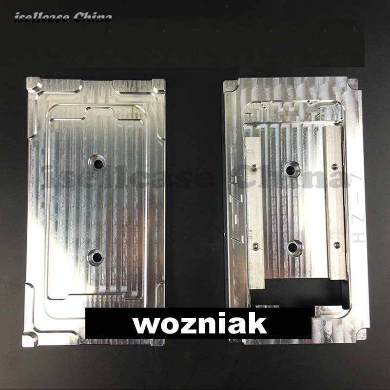 Wozniak Aluminium alloy Hot press die mould Pressure support mould Press mould for iphone 7 plus 7+ 7p Frame Abrasives mould set