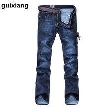 2017 Spring new style  Man straight high quality Straight jeans men's cotton casual jeans   young man's jeans men  size 32-38