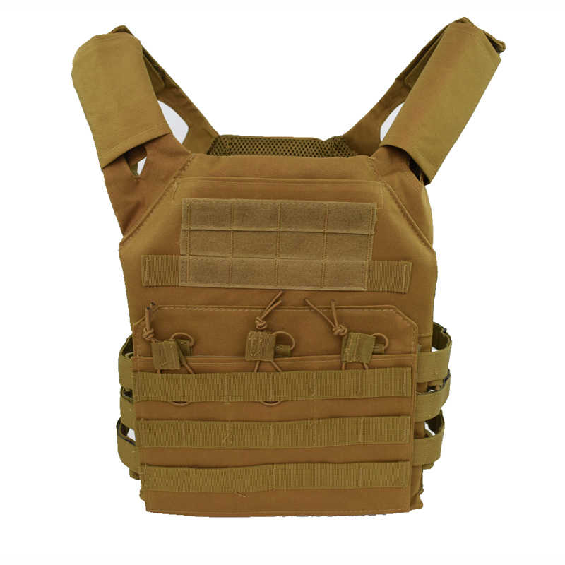 a8ac1bfcd50ff 600D Nylon Army Tactical Accessories Military Molle Body Armor Vest Airsoft  Paintball Outdoor Hunting Gear Protective
