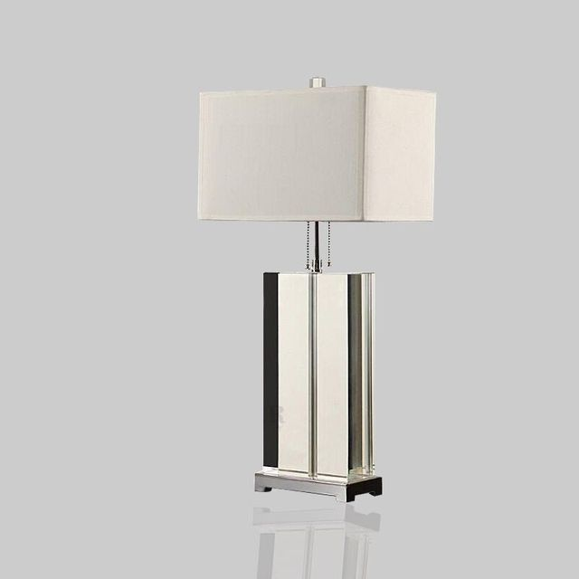 US $206.01 39% OFF|Luxury Modern Table Lamp Crystal Table Lamp Fabric  Lampshade Living Room Abajur Table lamp For Bedroom Lamparas De Mesa-in LED  ...