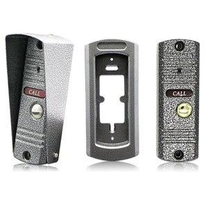 """Image 5 - 7"""" inch LCD Video Doorbell Monitor Intercom 1200TVL Outdoor Camera IP65 Door Phone Night Vision Unlock Intercom System SD Record"""