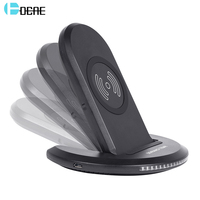 DCAE Qi Wireless Charger 10W For Samsung S9 Galaxy S8 Plus Note 5 8 S7 S6