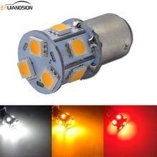 цена на 1PC 6-30V Car Light Signal Lamp 1156 1157 BA15D BAU15S Led Turn Brake Light Tail Lamp 5050 LED Auto Marine Rear Reverse Bulb r5w