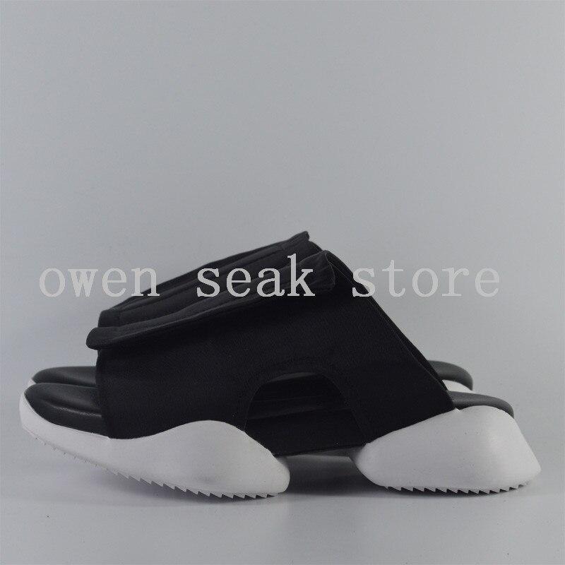 Sandálias De Luxo Preto Dos Owen Desliza Formadores Chinelos Verão Homens Flops Sapatos branco Flip Seak Roma Casuais Flats Pretas 8qpHwZ0