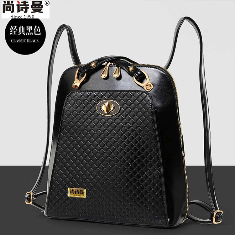 Famous Designer Black Leather Anese Backpack Laptop Purse For Womenpinkfashionwomen In Backpacks From Luggage Bags