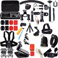 Accessories Kit for Gopro Hero 5 SJCAM Bag Chest Head Mount strap Float Tripod for Go Pro SJ4000 H9R Sport Action Camera 30