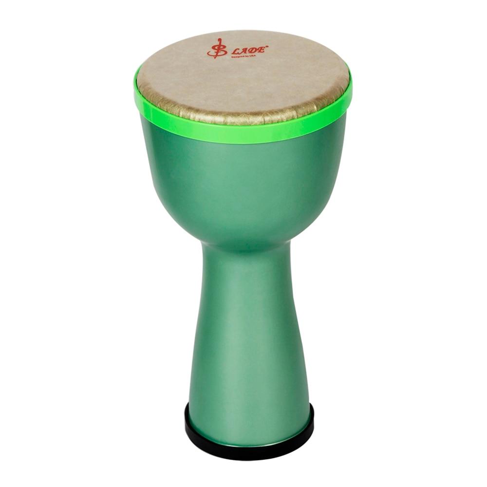 Tambour africain Portable djembé Bongo tambour à main corps ABS 8 pouces tête de tambour en Polyester avec oeufs Shakers sangle de tambour