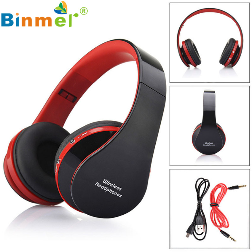 #15 2016 Hot Sale Stereo Music Headset  Headphone with Mic Handband  Foldable Wireless Music Bluetooth Earphone koyot stereo music headset headphone with mic handband foldable wireless music bluetooth earphone fone de ouvido for iphone 6