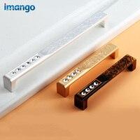 The High End Coat Cabinet Door Knobs Pattern Diamond Crystal Handle Cabinet Drawer Handles Furniture Hardware