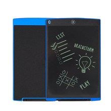 Portable Writing Board 12 Inch LCD Digital Drawing Handwriting Pads  Gift ABS Electronic Tablet Board For Home Office XXM8
