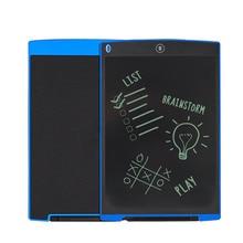 Tablero de Escritura portátil 12 Pulgadas LCD Digital de Dibujo y la Escritura Pads Oficina Regalo ABS Tablero Tableta Electrónica Para El Hogar XXM8