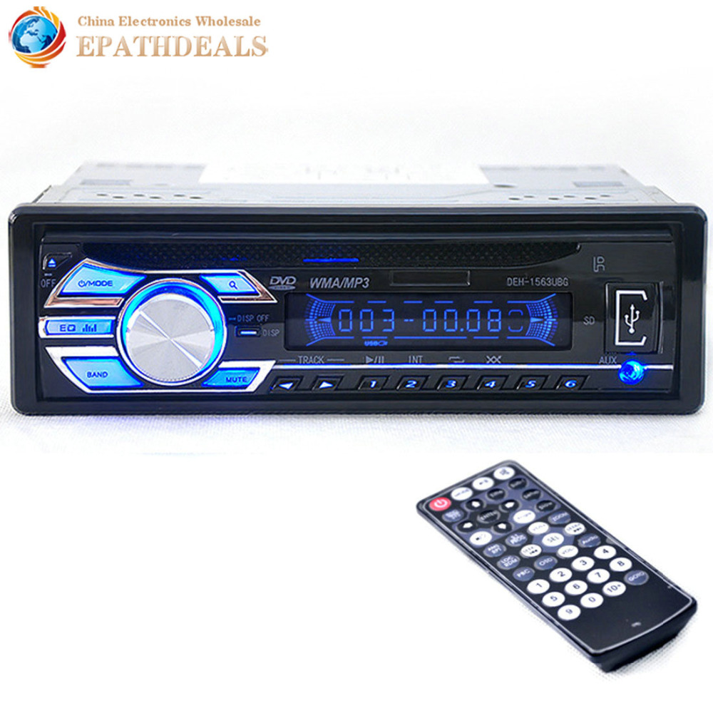 deh 1563ubg 12v auto car audio digital stereo fm radio usb. Black Bedroom Furniture Sets. Home Design Ideas