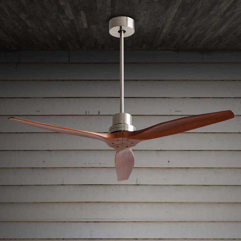 Modern ceiling fan with remote control electric oak blades ceiling modern ceiling fan with remote control electric oak blades ceiling fan 220v home decor kitchen restaurant nordic wood fan in ceiling fans from lights sciox Choice Image